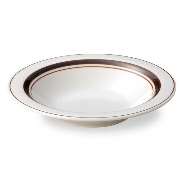 """スノートンボーダー8""""スープ皿スーププレート(211cm)カントリーcafeカフェ食器おしゃれ業務用"""