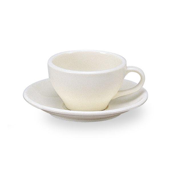 グランデ ティーカップ & ソーサー 白い食器 cafe カフェ 食器 おしゃれ 業務用 日本製