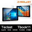 【10.6インチ 10.6型】Teclast Tbook11 DualOS 64GB 4GRAM 10.6インチ T3-Z8300 BT搭載【タブレット PC 本体】【0824楽天カード分割】
