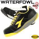 ディアドラ 安全靴 ウォーターフォール WATERFOWL ローカット 紐 メンズ レディース 23cm〜29cm おしゃれ