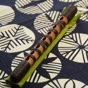 篳篥(ひちりき)・煤竹籐巻  ※漆を使用しております 【雅楽器 雅楽用品】