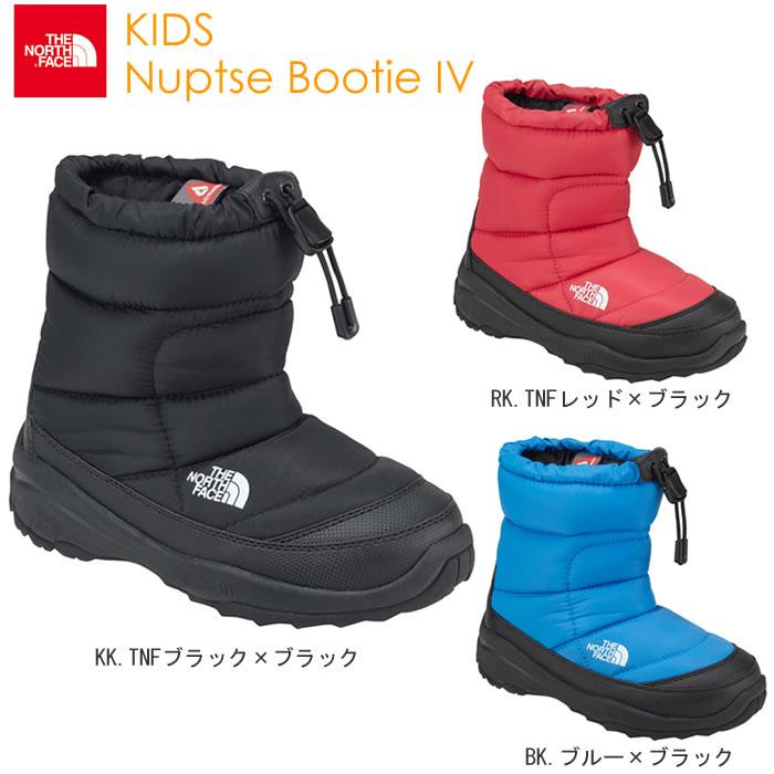 ノース・フェイス(THENORTHFACE)子供靴キッズヌプシブーティーIVNFJ51781全2色ブ