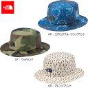 ノースフェイス (THE NORTH FACE) 子供用 キッズバケットハット NNJ01512 全3色 キッズ用 帽子 男女兼用モデル
