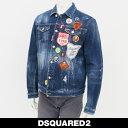 Dsqared(ディースクエアード)デニムジャンバージージャンインディゴS74AM0790