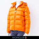 MONCLER(モンクレール)【メンズウェア】『MAYA』(マヤ)フード付ダウンブルゾン【オレンジ】