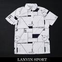 LANVIN SPORT(ランバン スポール)半袖ポロシャツホワイトVMN159334N