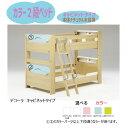 2段ベッド デコーラ キャビネットタイプ/引き出し無/二段ベッド/5カラーパーツ対応/グランツ