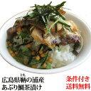 【他商品と一緒に買うと送料無料】広島県鞆(とも)の浦産の魚屋さんの作った『あぶり鯛茶漬け』わさび味3食X2パック【RCP】