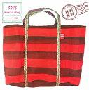 【送料無料】 台湾バッグ 5号サイズ 赤 トートバッグ ナイロンバッグ レトロかわいい 丈夫で軽い エコバッグ アジアン雑貨 台湾 お土産