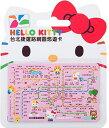 <数量限定>HELLO KITTY台北MRT 路線図悠遊カー...