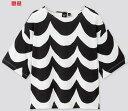 【2020夏最新コラボ】日本未上陸コラボ商品UNIQLO × Marimekkoユニクロ×マリメッコTシャツなみなみブラック