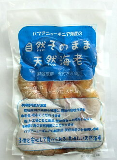 No natural intact natural shrimp (mix) * head 200 g