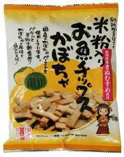 ■【ムソー】(別所蒲鉾)米粉入りお魚チップスかぼ...の商品画像