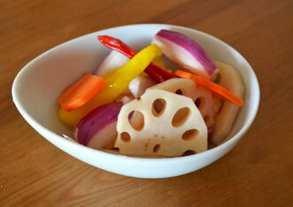 Pickles of the lotus root
