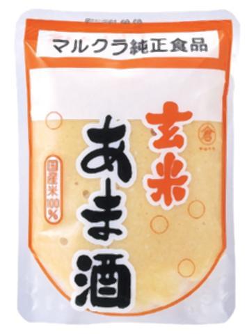 ■【ムソー】(マルクラ)玄米こうじあま酒(甘酒)250g