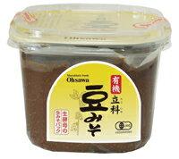 ●【オーサワ】有機立科豆みそ(カップ)750g※普通便発送 ※パッケージ変更予定
