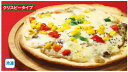 【H28年】★Xマス(ムソー)ピザ・きのこホワイトクリーム 1枚※直径約18cm【冷凍】
