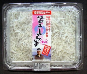 Ehime Prefecture Industrial oven fried Shirasu (small) 70 g