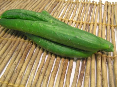 Specially cultivated cucumbers about 300 g
