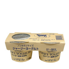 • Non Homo Jersey yoghurt 95 g 1 * sweetened * is for sale in one unit. [Cold]