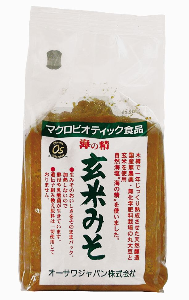 -A Sea Nymph, brown rice miso paste 1 kg