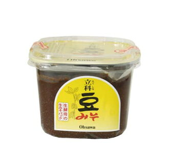 National Department of beans with miso 750 g * 切替rimashita to raw materials after the earthquake in 2014, * normal shipping (HZ)