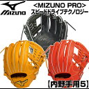 MIZUNO (ミズノ) 2016年SSモデル硬式用<ミズノプロ>スピードドライブテクノロジー 内野手用5 硬式グローブ