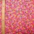 和調木綿 (金彩桜満開文様)ピンク 【布地 生地 和柄】【和柄生地】【MT】