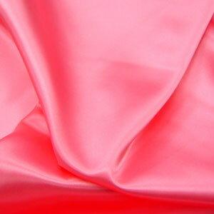 【サテン】ポリエステルサテン ピンク約122cm巾×10cm単位切り売り【布地 生地 サテ…...:tajima-ya:10004063