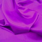 ポリエステルサテン 紫約122cm巾×10cm単位切り売り【M】
