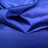 ポリエステルサテン 紺約122cm巾×10cm単位切り売り【M】