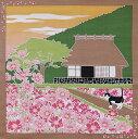小風呂敷 たまのお散歩 秋桜 約50cm×50cm【RS1】