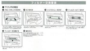 メンテ高性能カーエアコンフィルターパレット/ラパン/ワゴンR/ルークス/AZワゴン【TMCF-S07】