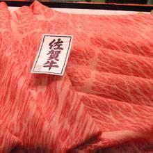 佐賀県産 黒毛和牛肩ロースしゃぶしゃぶ用【100g】の商品画像