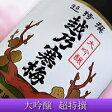 【ポイント20倍♪】現品限り!【日本酒】『越乃寒梅 大吟醸酒 「超特撰」 500ml化粧箱入』【訳あり】:製造年月日2015年11月*遮光と温度管理された環境で保管しております。香味、品質は良好です。ご安心下さいませ。