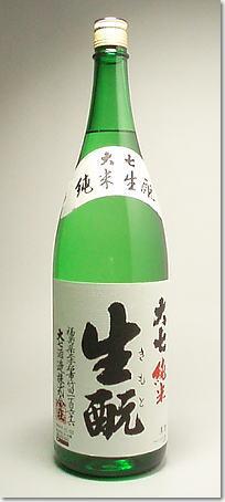 【福島県 地酒】大七 純米生もと造り 1.8L