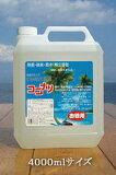 『 ココナツ洗剤 4L 』健康と環境を守る新しい 多目的洗剤 多種類の洗剤を揃える必要が無くなります♪ボディソープに・フェイスウォッシュにシャンプー・食器洗い・洗濯用に消臭・脱臭効