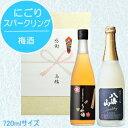 【日本酒スパークリングギフト】『 八海山 発泡にごり酒 720mlサイズ&八海山の原酒で仕込