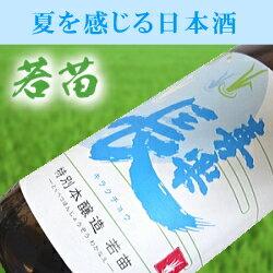 日本酒夏季限定品冷酒(わかなえ)喜楽長若苗特別本醸造酒18L滋賀県の地酒喜多酒造謹製爽酒・冷や・オン