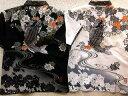 カラクリ魂 和柄 和生地レイヤード半袖ポロシャツ 登り鯉刺繍 KARAKURI【楽ギフ_包装】【楽ギフ_のし】