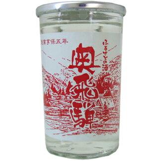 奥飛騨 カップ(上撰)180ml【日本酒・清酒・地酒】