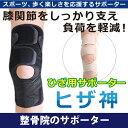 膝の固定サポーター「ヒザ神」(左右兼用1枚)【メール便送料無料】