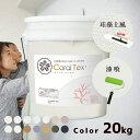 【送料無料 すぐ塗れる】20kg 西洋漆喰【Coral Te...
