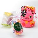 新宿高野 招き猫巾着袋E ピンク | フルーツチョコレート ...
