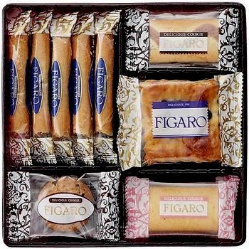 FIGARO三立饼干曲奇礼盒25枚