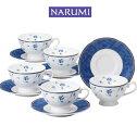 NARUMI【ナルミ】シャンソネットコーヒーカップ&ソーサー5客セット5客碗皿 内祝い お返し 出産内祝い 結婚お祝い 結婚内祝い プレゼント コーヒー5客セット