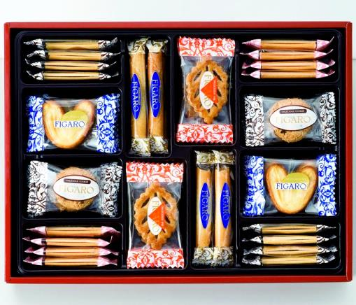 FIGARO三立饼干曲奇礼盒32枚