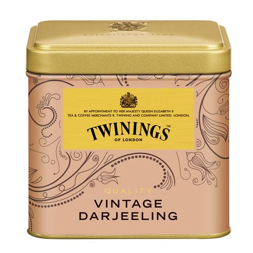 トワイニング 紅茶 ビンテージダージリン 100g×24缶 同梱分類【B】