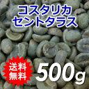 【送料無料】メール便コーヒー生豆コスタリカセントタラスQ認証500g(250g×2)【同梱不可】
