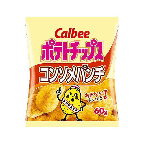 カルビー 60gポテトチップス コンソメパンチ 12入(HLS_DU).